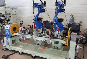 Hệ thống hàn tự động bằng robot