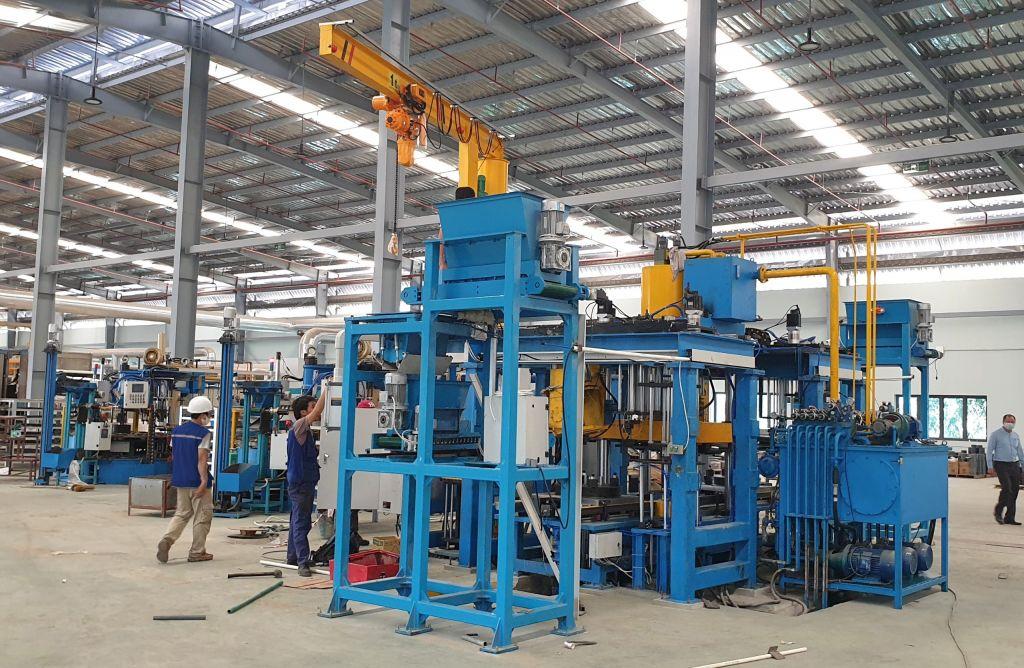 Thi công lắp đặt máy công nghiệp Bắc Giang